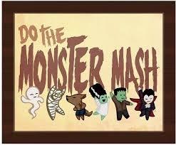 Monster Mash Family Bingo